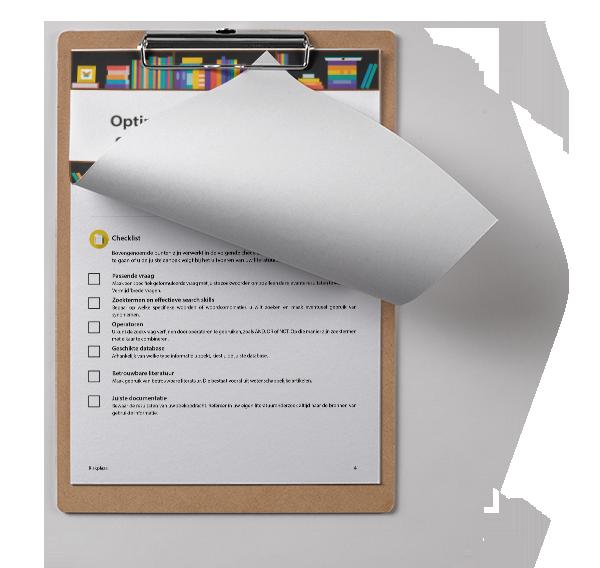 Checklist Literatuurstudie Riskplaza